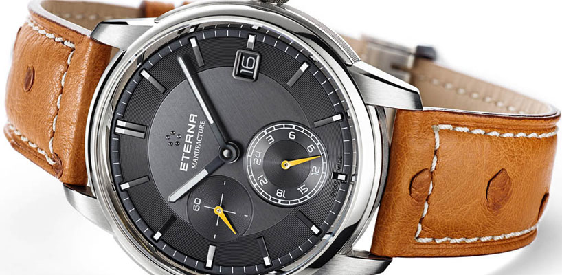 Introducing the new Eterna Adventic GMT: Basel 2015 Release!