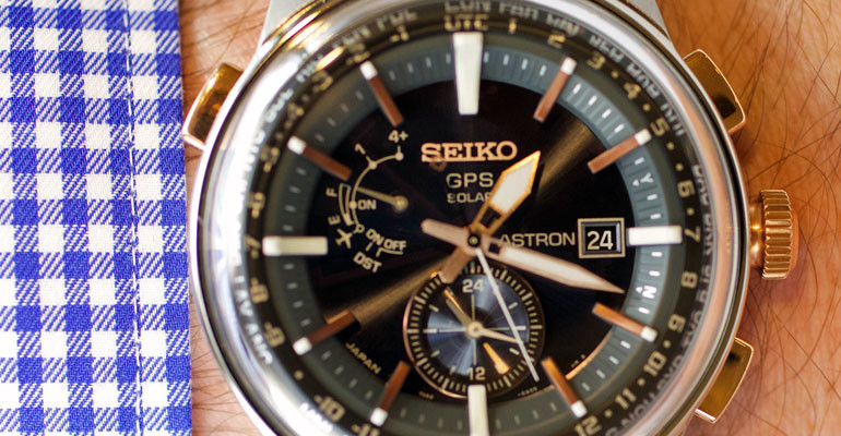 Seiko Astron GPS Solar SAS038 – sold in the UK exclusively by Jura Watches
