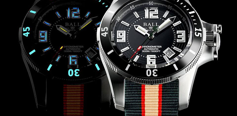 Get The New Ball Engineer Hydrocarbon Arctic Chronometer!