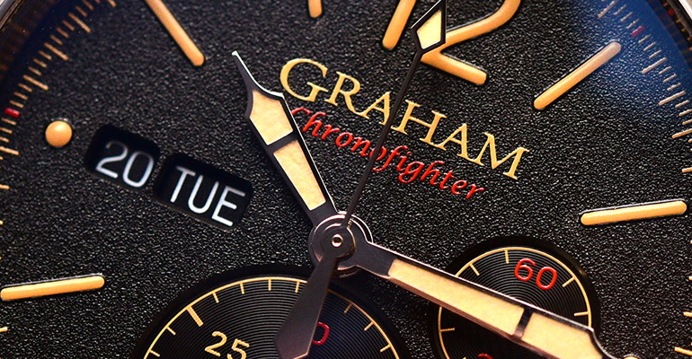 Graham Vintage Chronofighter Watch Video