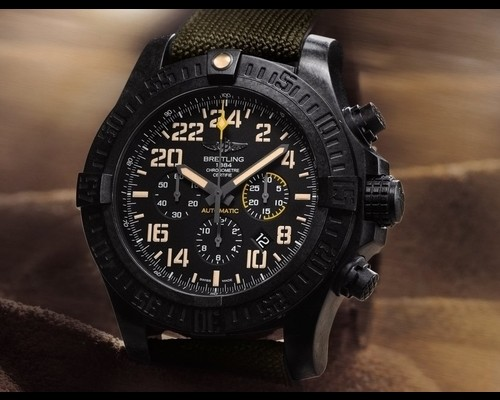 Breitling Avenger Hurricane Military Volcano Watch Review