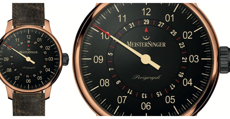 MeisterSinger Perigraph Bronze Limited Edition Watch Review