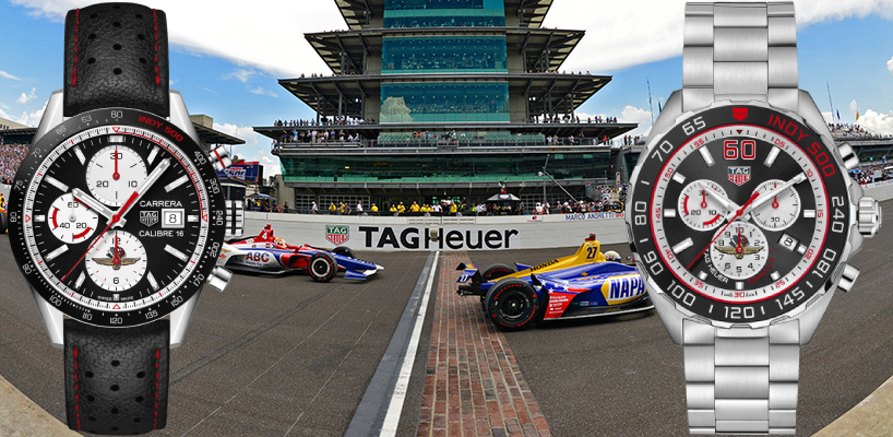 TAG Heuer Indy 500 Carrera and Formula 1 Limited Edition Watches Review