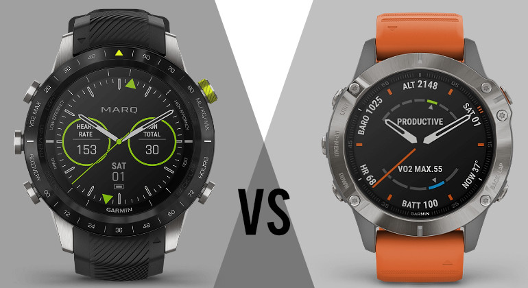 Garmin MARQ vs Fenix 6: what's the difference?