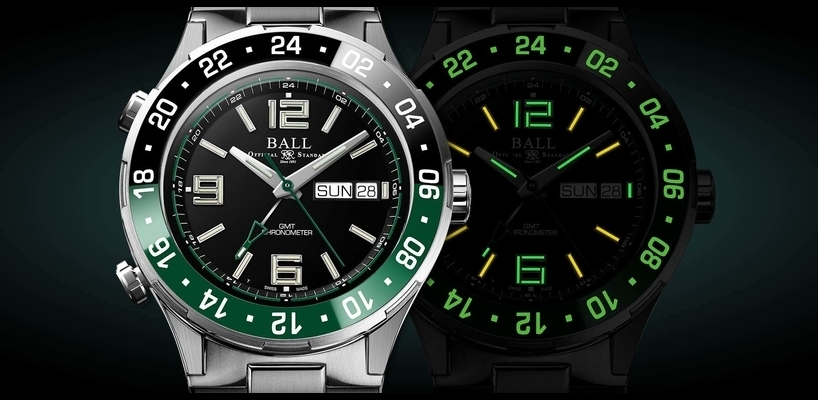 BALL Roadmaster Marine GMT Limited Edition Watch Review