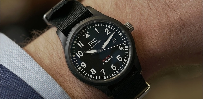 The Heritage of IWC Top Gun Pilot's Watches