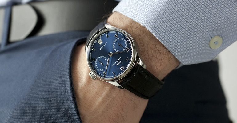 Unboxing the STUNNING IWC Portugieser Auto IW500710
