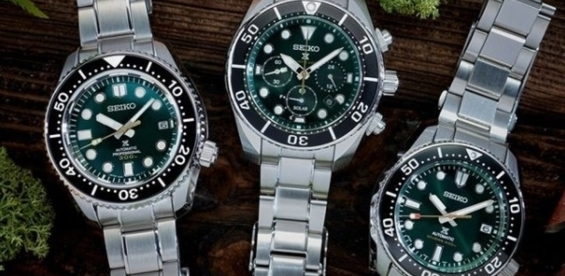 A look at the NEW Seiko Prospex Island Green Limited Edition Collection
