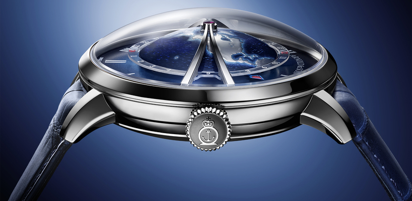 Arnold & Son Globetrotter Steel Opaline and Blue Watches Review